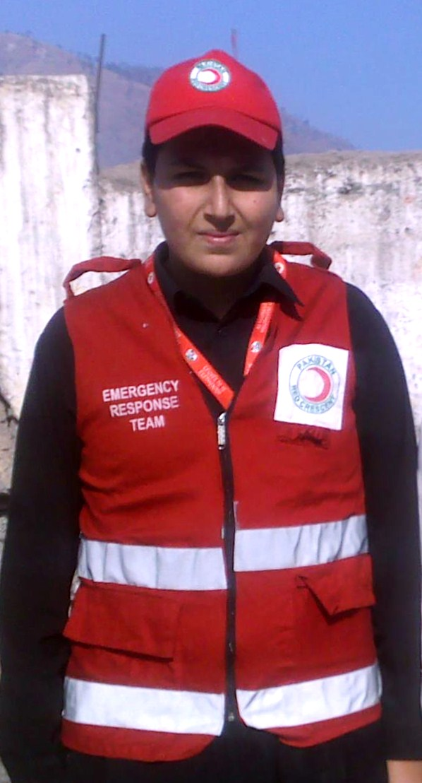 Proud to be the Volunteer of International Red Cross Red Crescent movement