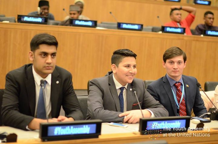 Syed Mahmood Kazmi at Winter Youth Assembly at United Nations 2015