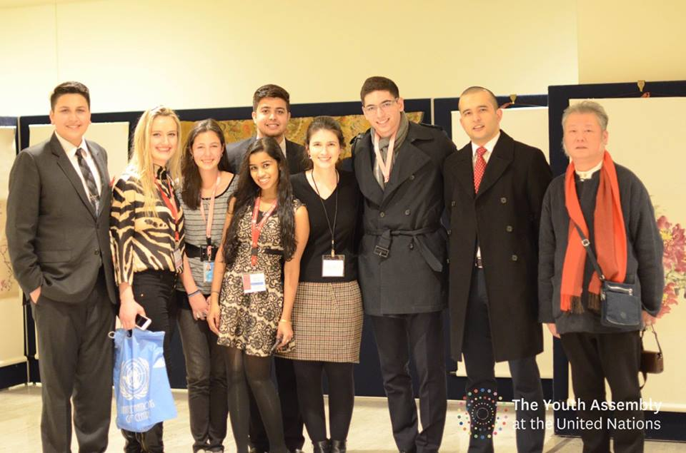 Group Photo of participants at Youth Assembly