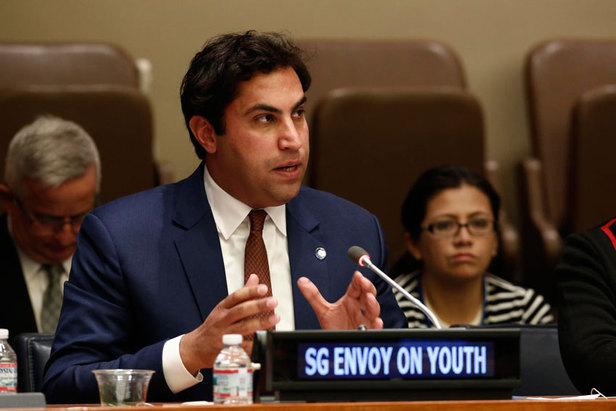 Mr. Ahmad Alhendawi, The UN Secretary General's Envoy on Youth